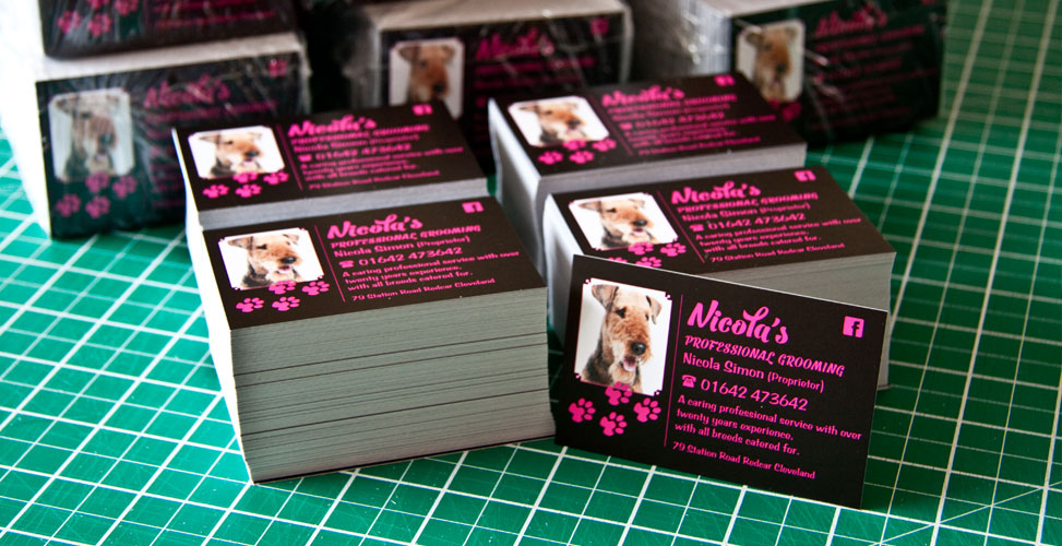 Dog Grooming Business Cards Uk Choice Image - Card Design And Card ...